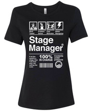 Stage Manager Women's Relaxed Fit T-Shirt
