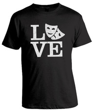 Love Theatre Unisex T-Shirt