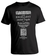 Romeo and Juliet Folio Unisex T-Shirt