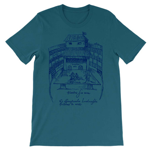 Shakespeare's Swan Theatre Graphic Tee - Teal