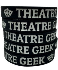 Theatre Geek - silicone wristband