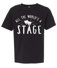 All the World's a Stage Boys Graphic Tee