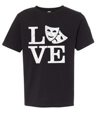 Love Theatre Boys Graphic Tee