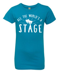 All the World's a Stage Girls T-Shirt