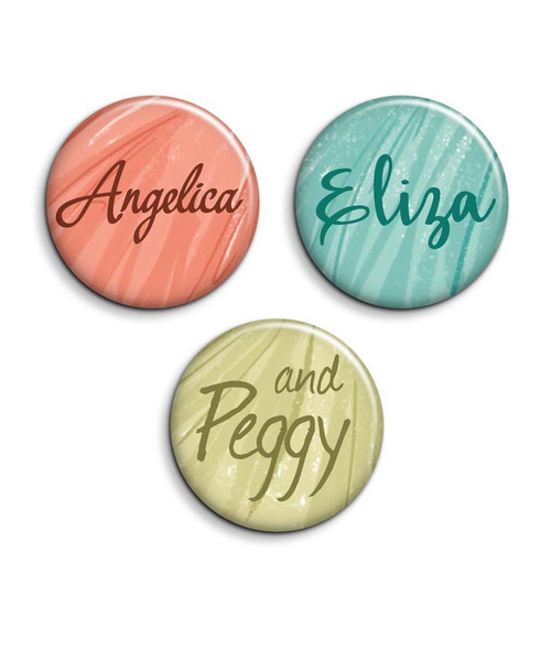 The Schuyler Sisters button 3 pack.
