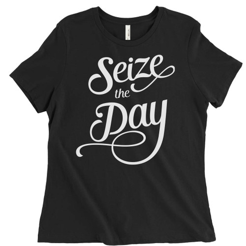 Seize the Day - Newsies Fansies - Womens Relaxed Fit T-Shirt