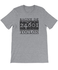 Prisoner 24061 Bagne de Toulon - Les Miserables - Unisex T-shirt