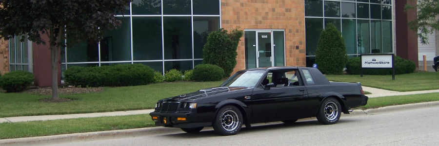 Highway Stars in Gurnee Illinois specializes in 1987 Buick Grand National Parts www.highwaystars.net