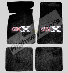 GM licensed floor mats with the GNX logo available through Highway Stars