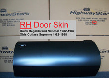 Highway Stars door skin for 1982 - 1987 Buick Regal or 1981 - 1988 Cutlass