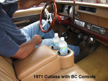 Bench seat BC Cruiser Center Arm rest console with cup holder available from Highway Stars