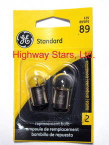 GE bulbs package of 2 GE 89/BP2