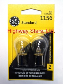 Bulbs - Reverse lamps GE 1156