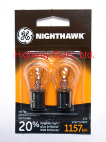 Bulbs - Nighthawk - Rear turn signal lamps GE 1157NH