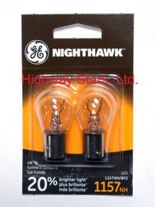 Bulbs - Nighthawk - Rear turn signal lamps GE 1157NH