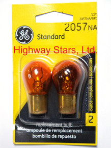 Bulbs - Front turn signal lamps GE 2057NA