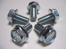 Set of 5 Zinc Turbo Heat shield bolts for Turbo Regal Grand National available through Highway Stars