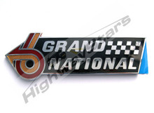 GM Licensed Grand National Badge made by original GM manufacturer