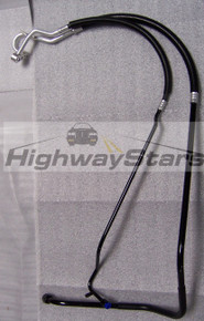 GM Licensed AC hoses GM #25525272 with black powdercoated