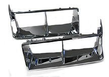 Reproduction Pair of Chrome Headlight Bezels for Turbo Regal Turbo T T-Type