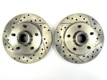 Buick Grand National directional brake rotors front