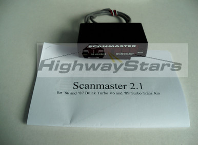 Scanmaster 2.1 original style for 1986 1987 Buick Turbo Regal Grand national Turbo Transam