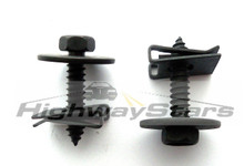 Buick Grand National deflector mounting screws and U-nuts