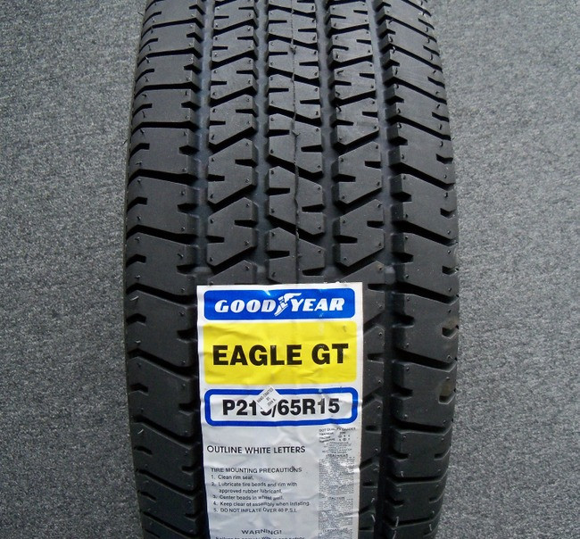 Tire Goodyear Eagle Gt P215 65r15 Owl Like Factory