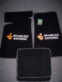 Special Purchase-Set of 4 Floor Mats w/Grand National logo 53P on front 2 mats