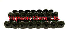 Highway Stars sells the correct set of black wheel well molding screws