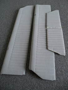 Interior-Door Panels-Grey PALEX-4 pc. COMPLETE SET UPPER (front & rear) to match our Palex Seat Covers