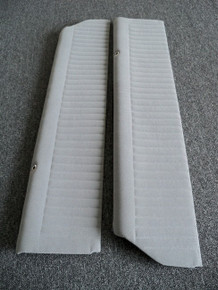 Interior-Door Panels-Grey PALEX-2 pc. (FRONT UPPER) to match our Palex Seat Covers