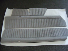 Interior-Door Panels-4 pc. COMPLETE SET UPPER for Regals with velour mat. single stitch (front and rear)