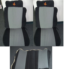 Buick Grand National Reproduction Pallex seat covers with the hog ring style pleats (like factory)