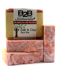 This luxurious bar leaves your skin moisturized and revitalized...like a day at the spa! Mineral-rich Sea Salt and Himalayan Pink Salt work together to gently polish and nourish your skin. Rhassoul and Rose Kaolin Clays absorb impurities, remove toxins, and beautify the complexion. The addition of creamy Shea Butter and pure Aloe Vera make this wonderful soap a perfect all-over body bar and complexion bar.  You will fall in love with the fresh, bright, invigorating scent from the all-natural essential oils.