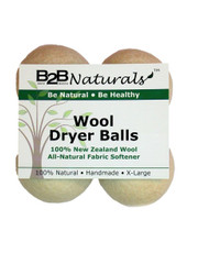 B2B Naturals™ Wool Dryer Balls - 4 Pack
