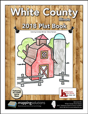 White County Illinois 2018 Plat Book