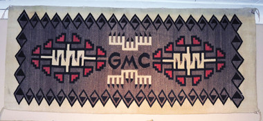 Navajo Indian Pictorial Textile GMC