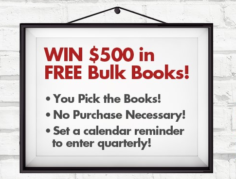 Win $500 in Free Books
