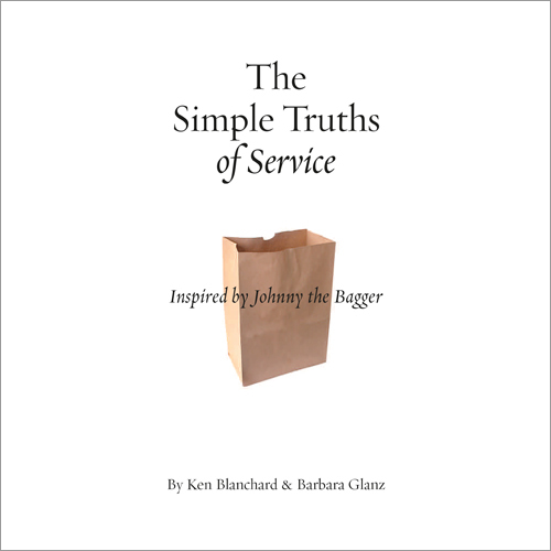 The Simple Truths of Service (Book Only) (Inspired by Johnny the Bagger)