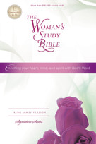 The Woman's Study Bible, KJV by Thomas Nelson, 9781418548780
