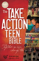 Take Action Teen Bible, NKJV by Thomas Nelson, 9781418549053