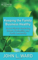 Keeping the Family Business Healthy (How to Plan for Continuing Growth, Profitability, and Family Leadership) by John L. Ward, 9780230111219