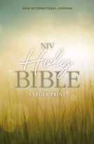 NIV, Holy Bible, Larger Print, Paperback - 9780310446149 by  Zondervan, 9780310446149
