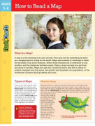 How to Read a Map FlashCharts by Susan Schader Lee, 9781411469211