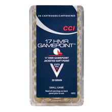 CCI 17 HMR Gamepoint Ammo