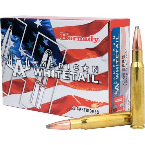 American Whitetail Ammunition 30-06 180 Grain