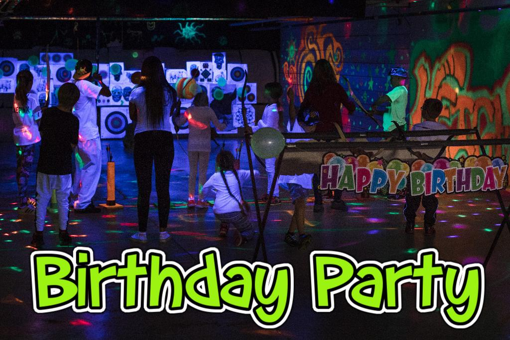 Winnipeg Archery Birthday Party Heights Outdoors