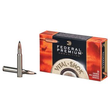 Federal Premium Ammunition Vital Shok Trophy Copper 280 Rem.