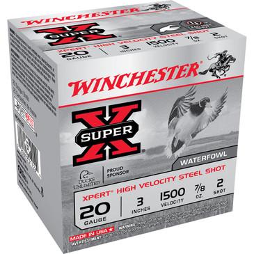 "Winchester Super X Shotgun Shells 20 Gauge 3"" 2"